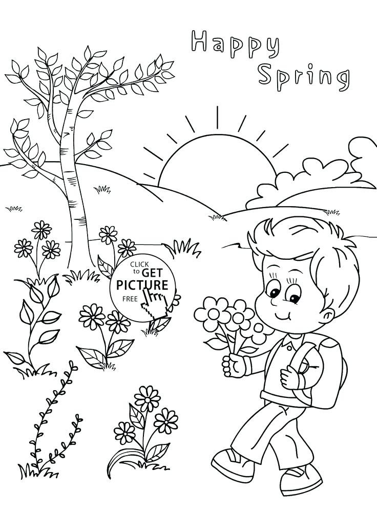 coloring pages for four seasons-#21