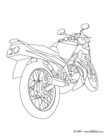 364x470 Coloring Pages Of Motorcycles Coloring Pages Motorcycle 4 Wheeler