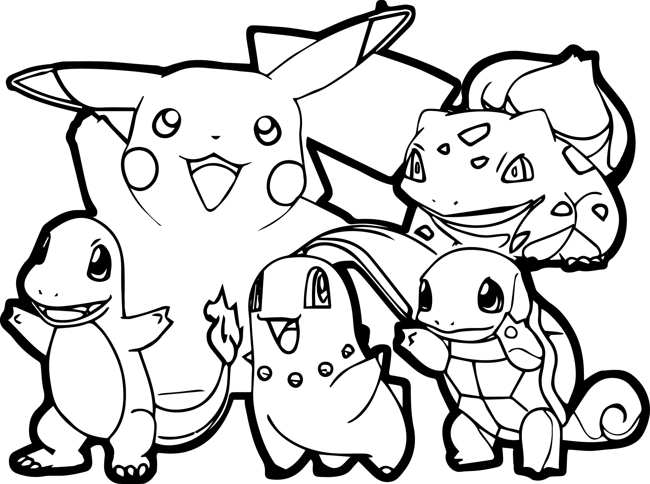 2096x1561 Draw All Pokemon Coloring Pages 84 On Coloring Online With All