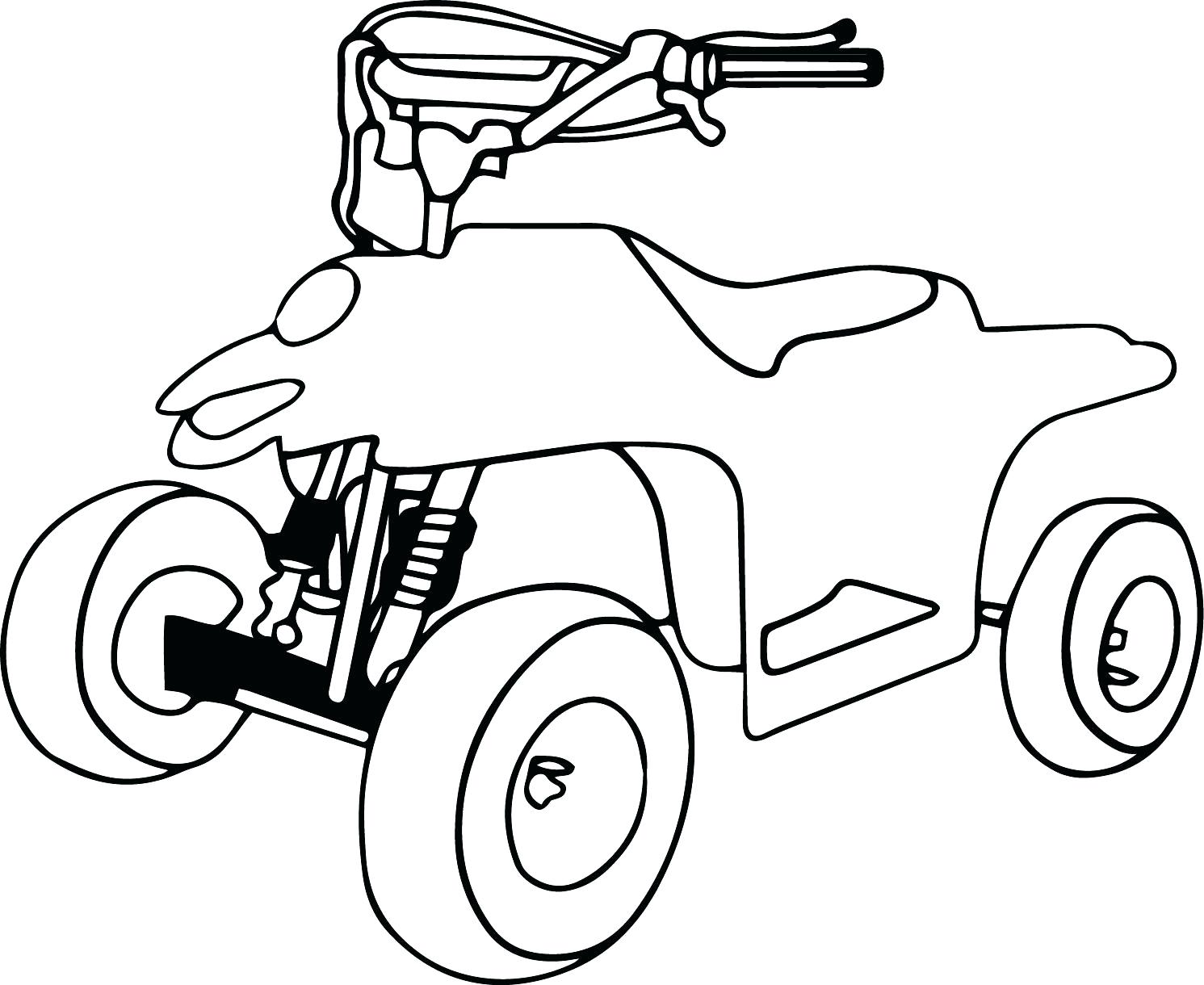 1491x1220 Coloring Four Wheeler Coloring Pages Download Or Print These