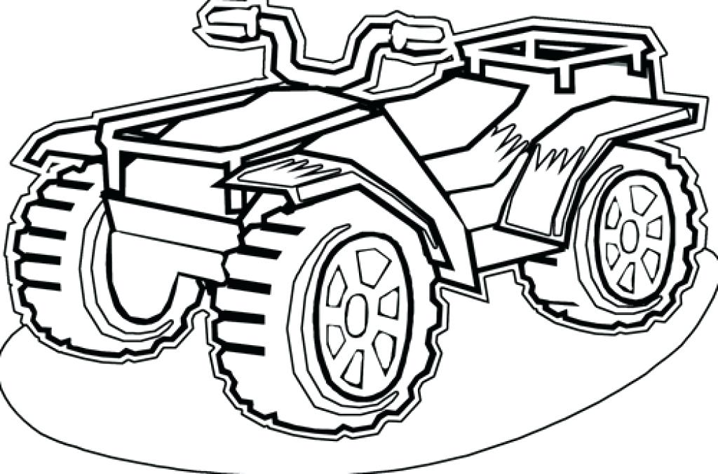 1024x677 Four Wheeler Coloring Pages Four Wheeler Coloring Pages Four