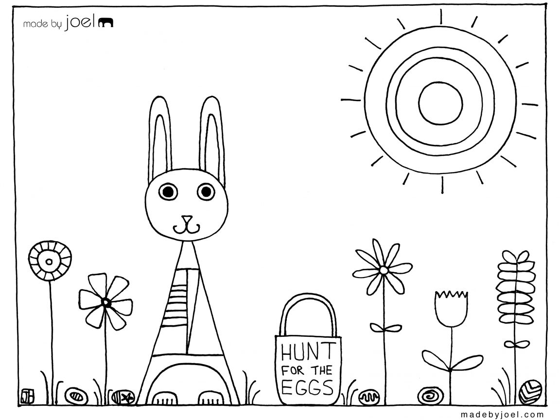 1152x864 Coloring Pages Flower For 4 Year Old Free Printable Kids Page Four