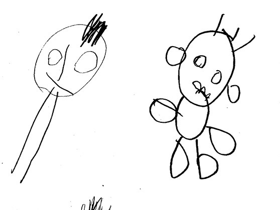 558x419 What Kids' Drawings Say About Their Future Thinking Skills