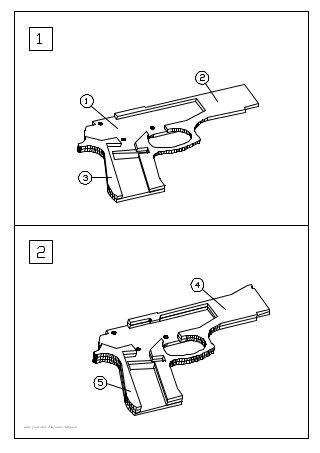 320x453 M9 Rubber Band Gun 1 Rubber Band Gun