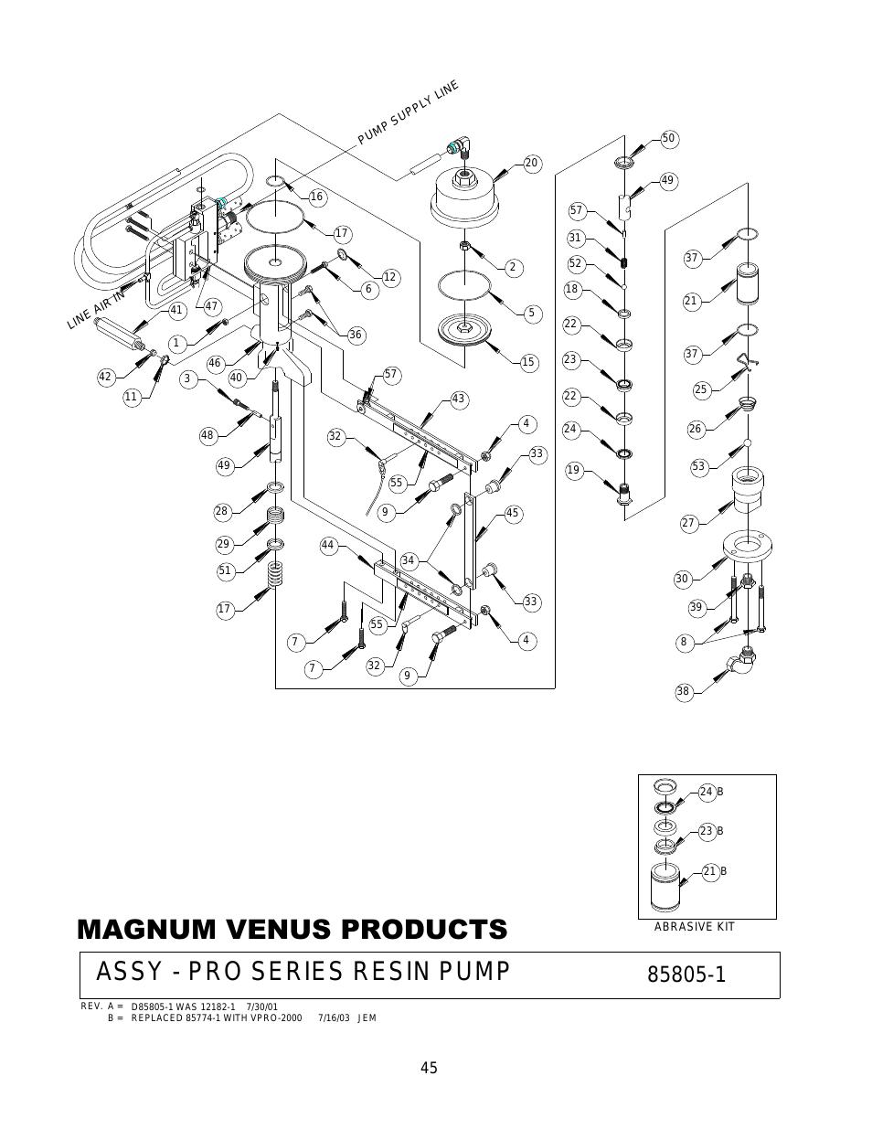954x1235 Magnum Venus Products, Assy