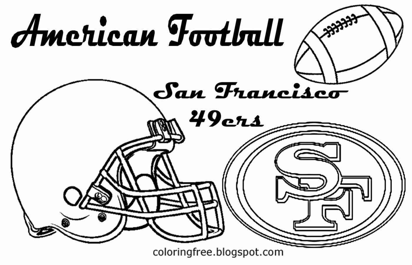 49ers Logo Drawing at GetDrawings.com | Free for personal use 49ers ...