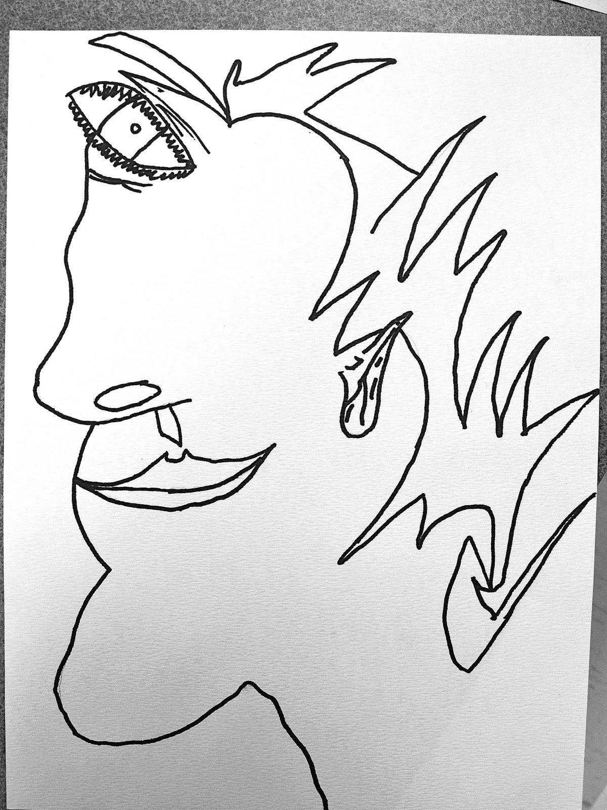 1200x1600 Da Vinci's Wings 5th Grade Picasso Portraits
