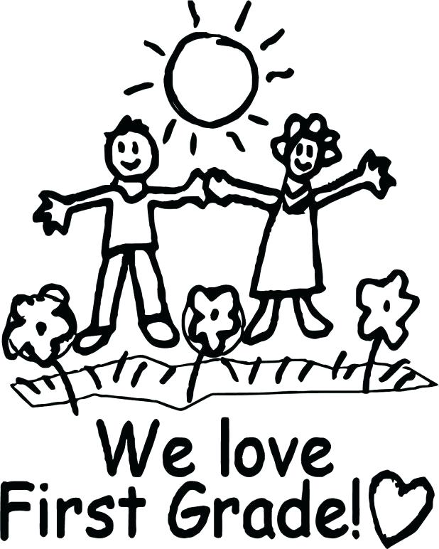 618x772 First Grade Coloring Pages We Love First Grade Coloring Page