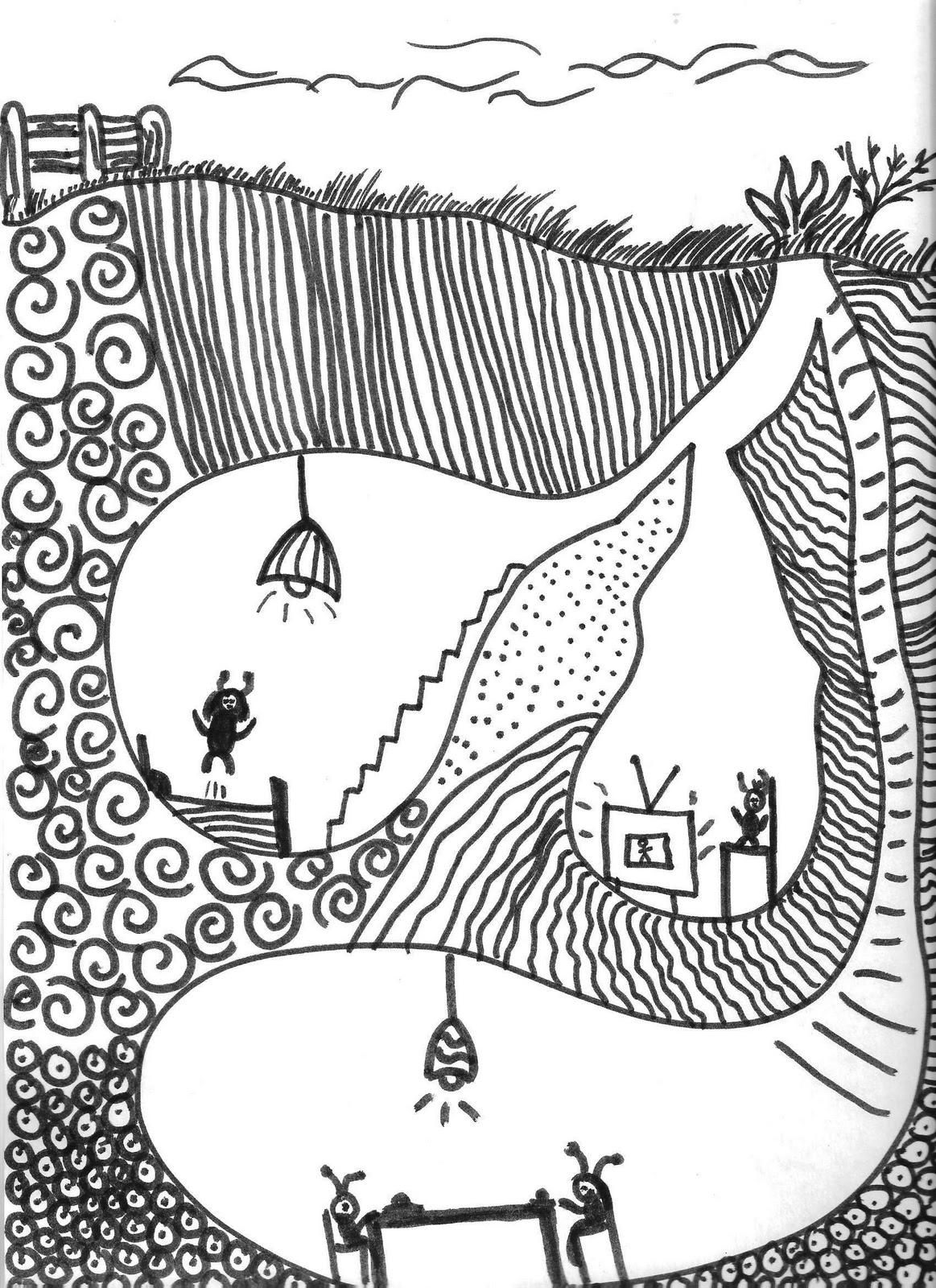 1163x1600 North Art Alert Fourth Grade Underground Worlds Art Projects