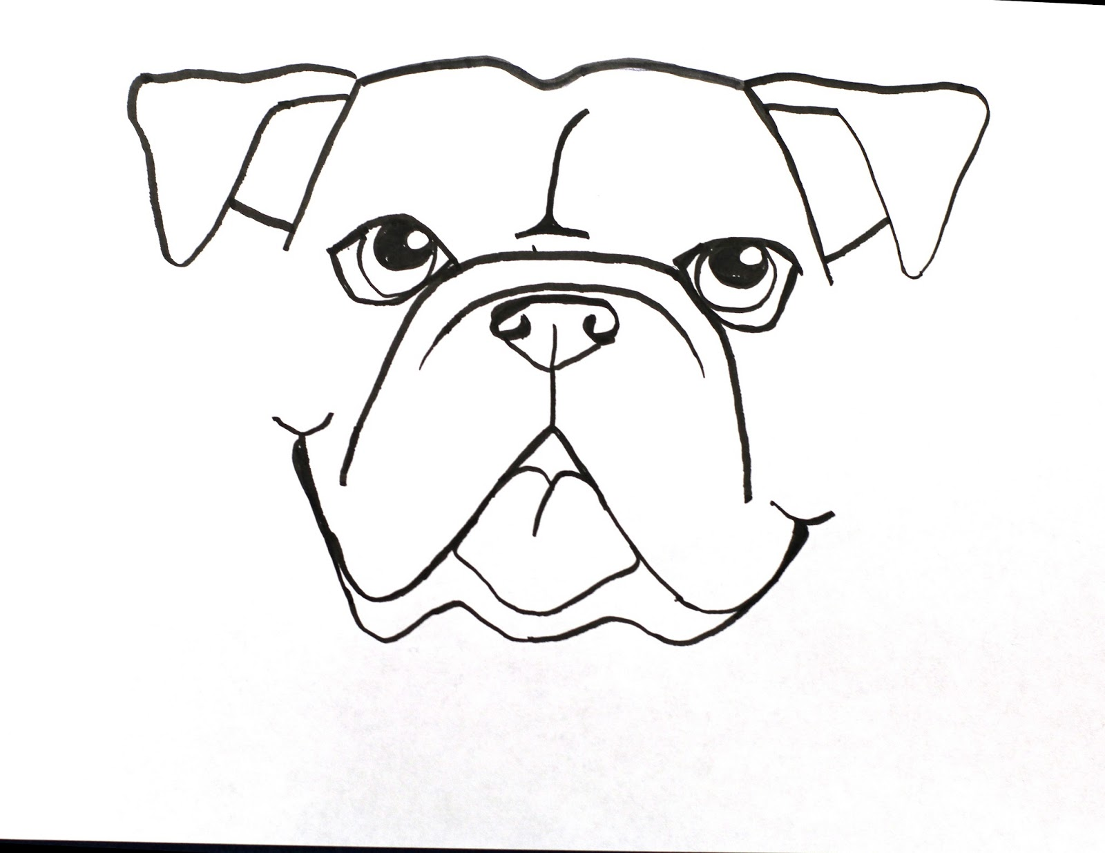 1600x1235 Smart Class Bull Dog Draw A Long