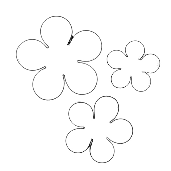 600x600 Crystal Flowers Blossom Cutters Set By Gsa Crystal Flowers By Alan
