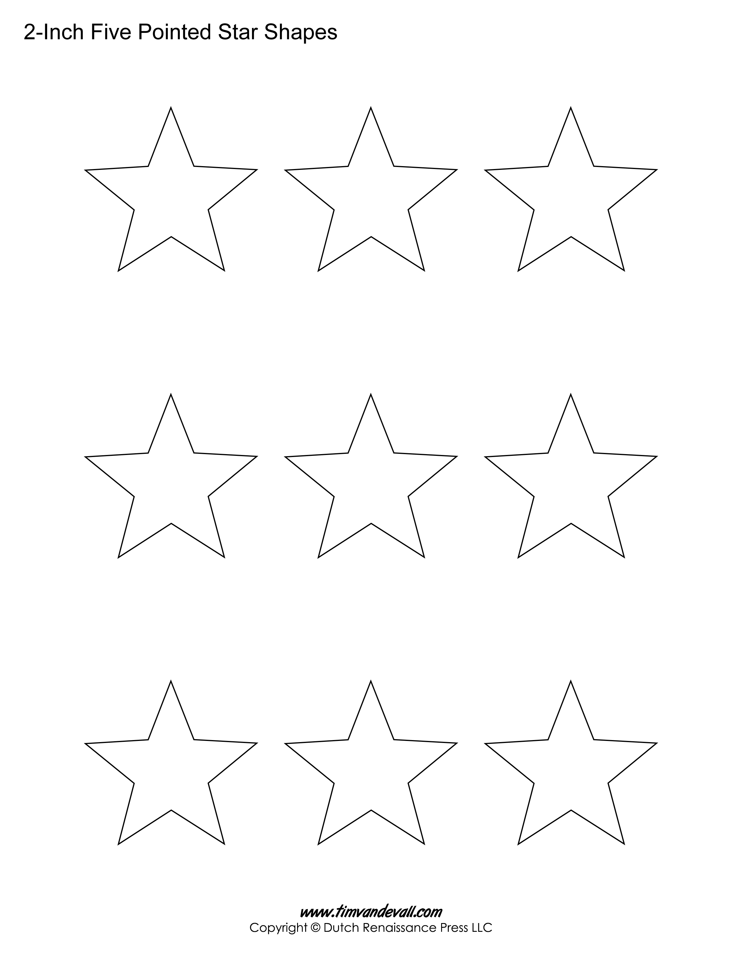 5 point star drawing at getdrawings free for personal use 5 2550x3300 printable five pointed star templates blank shape pdfs maxwellsz