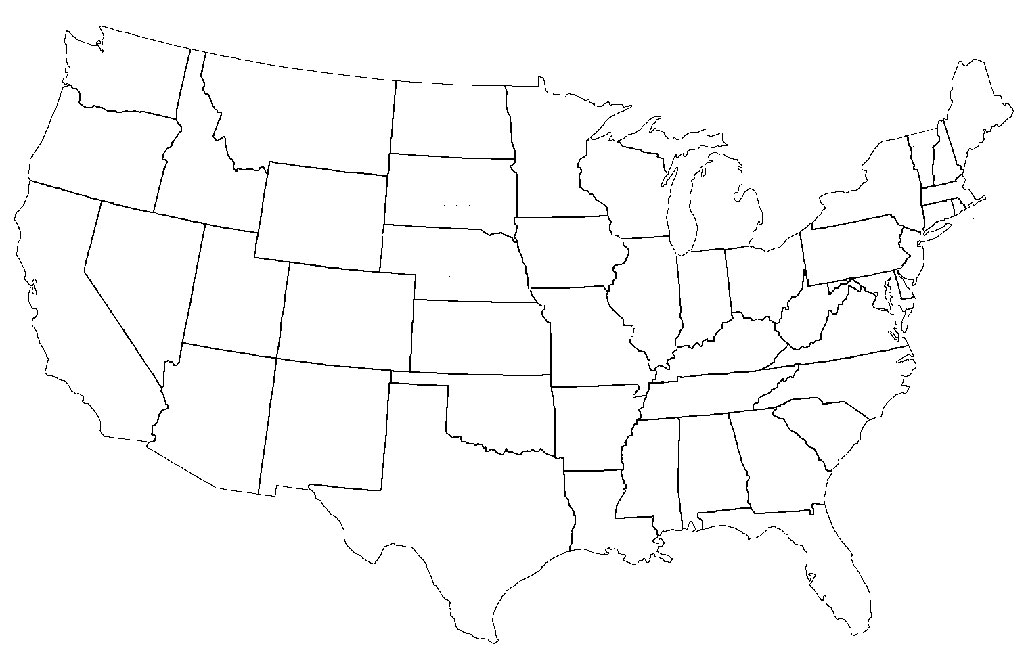 50 States Drawing At Getdrawings Com Free For Personal Use 50