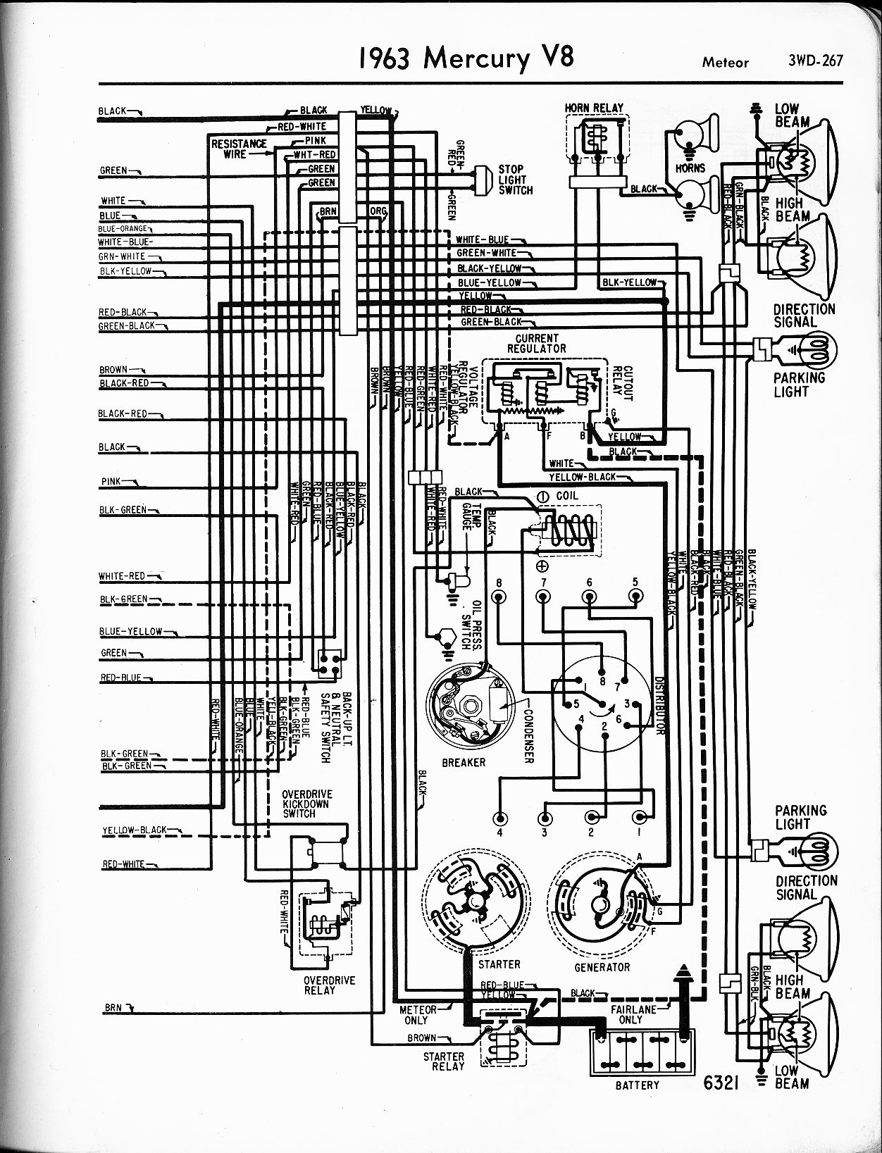 1955 chevy radio diagram