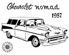 57 chevy drawing at getdrawings com