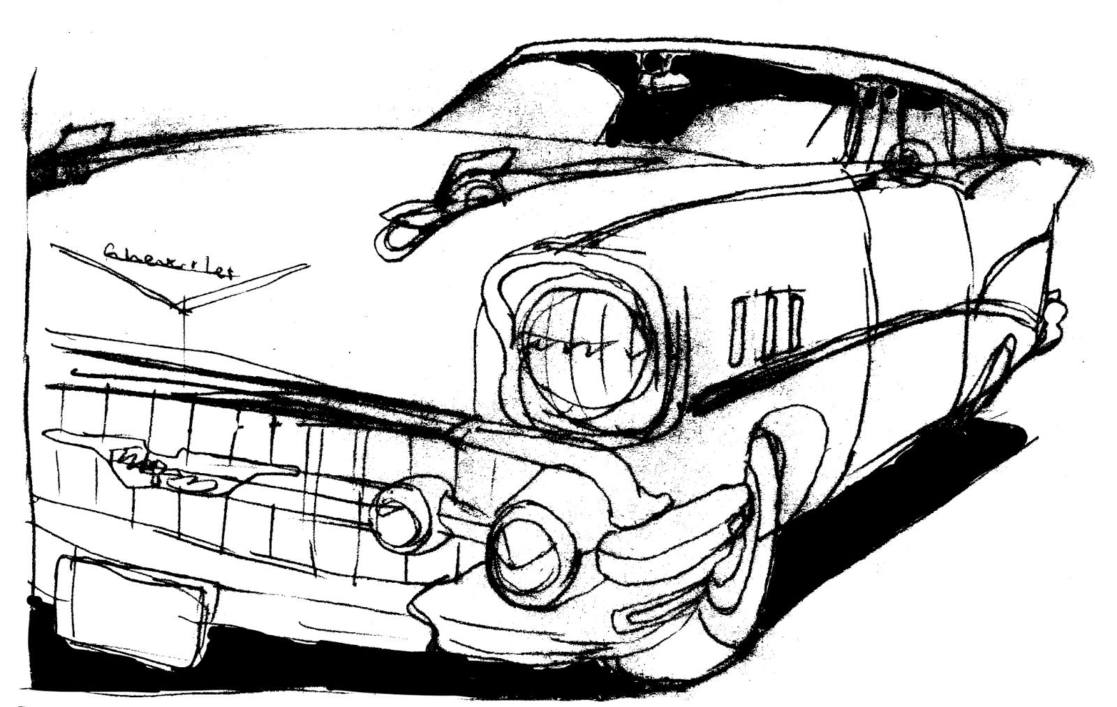 1600x1013 Don Moyer Sketchbook 57 Chevy