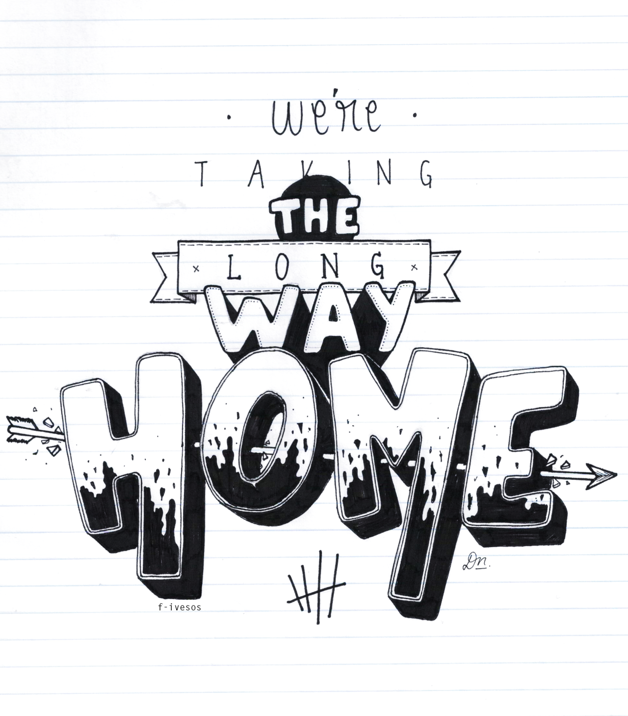 1280x1458 5sos Lyrics We'Re Taking The Long Way Home We'Re Taking The Long