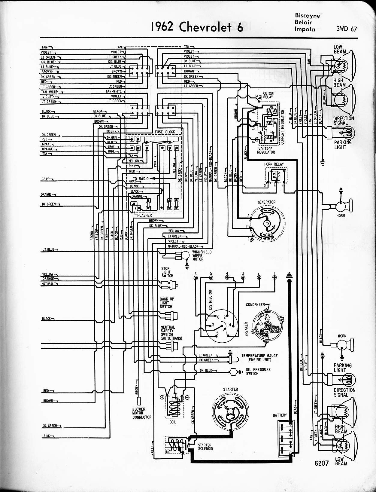 64 impala wiring diagram