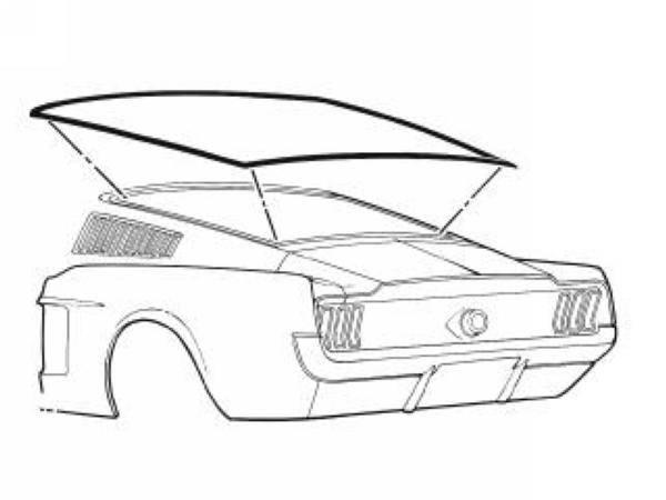 67 Mustang Drawing At Getdrawings Com