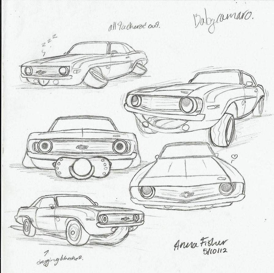 69 Camaro Drawing At Free For Personal Use 1968 Wiring Harness Retainer Clips 895x892 Baby Sketches By Jasondoggy101