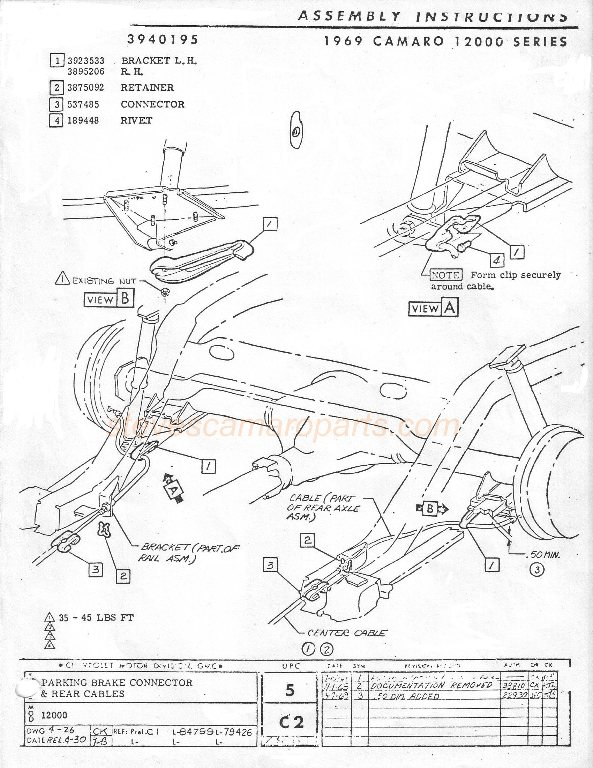 Camaro Ss 1969 Camaro Cowl Induction Wiring Diagram 68 Camaro Wiring