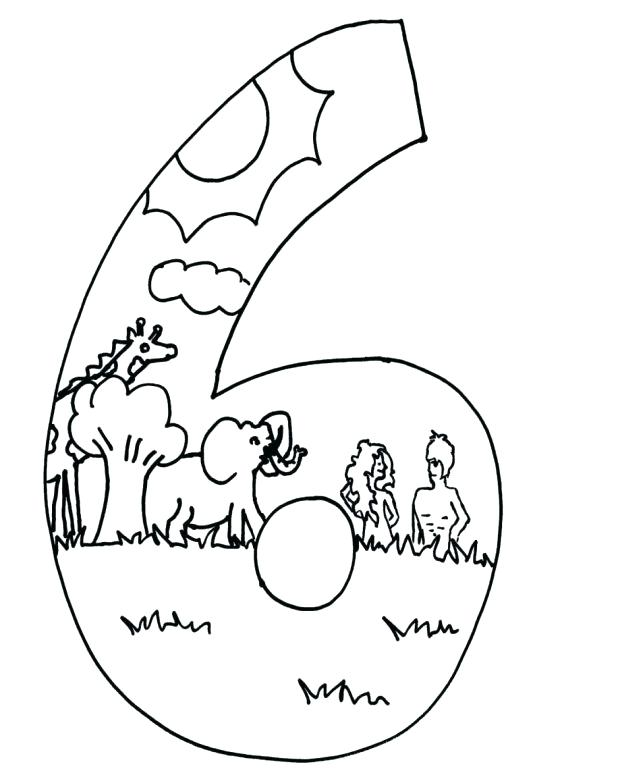 618x775 Free Printable Creation Coloring Pages Free Printable 7 Days