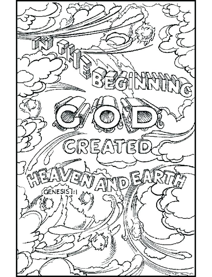 736x960 Fresh Creation Coloring Pages Or Creation Coloring Pages 7 Days