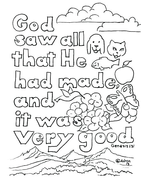 492x640 This Is Creation Coloring Pages Images 7 Days Of Creation Coloring