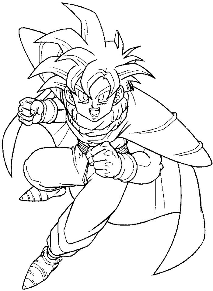 700x955 How To Draw Gohan From Dragon Ball Z With Easy Step By Step