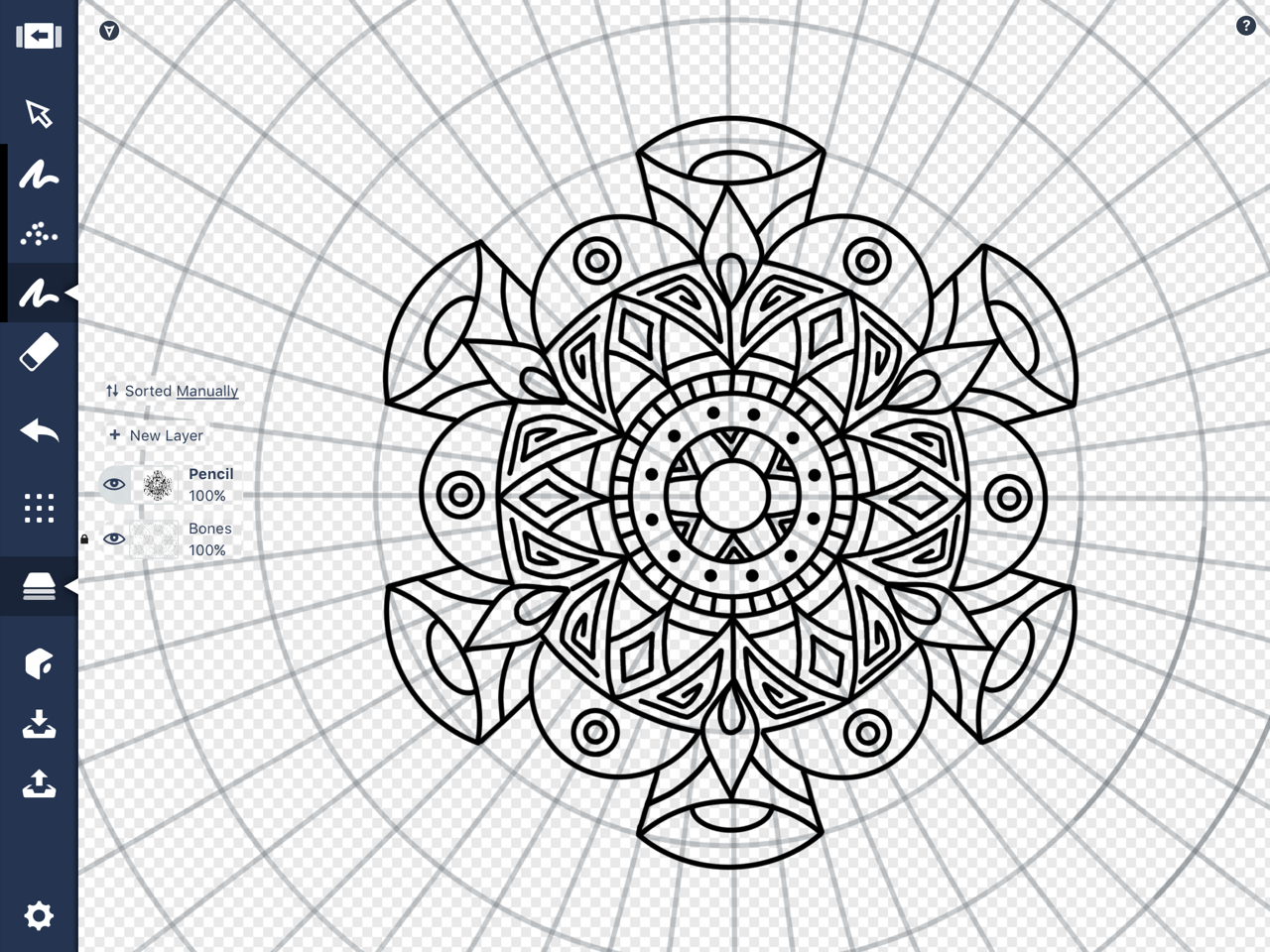 1280x960 How To Draw A Mandala In Concepts Concepts Medium