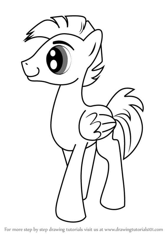 567x800 Learn How To Draw 8 Bit From My Little Pony