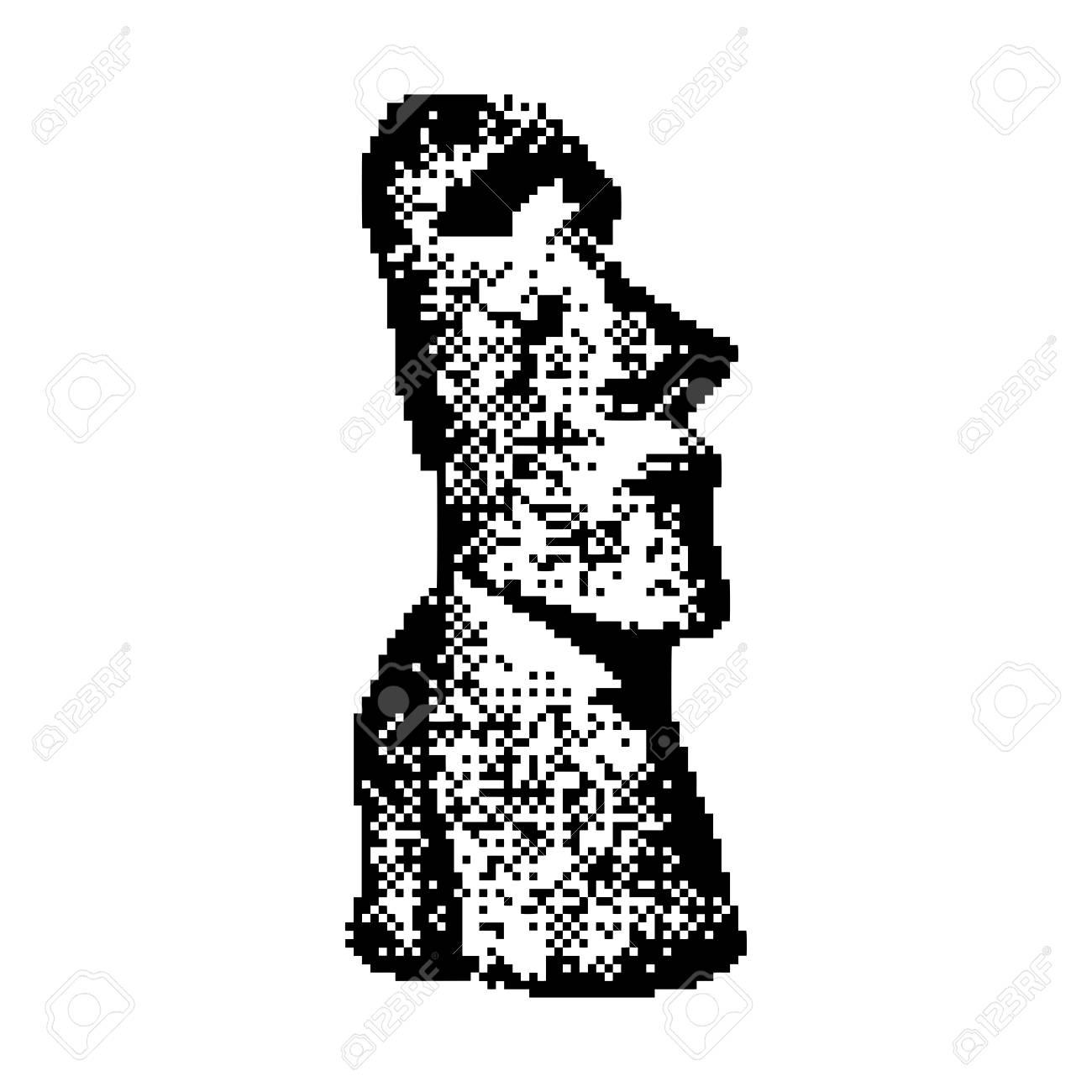 1300x1300 Moai Statue In The Rano Raraku Volcano, In Easter Island Rapa