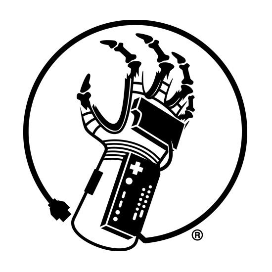 550x550 8 Bit Zombie Logo