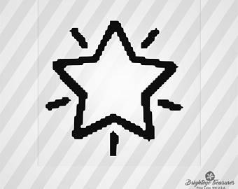 340x270 8 Bit Star Etsy