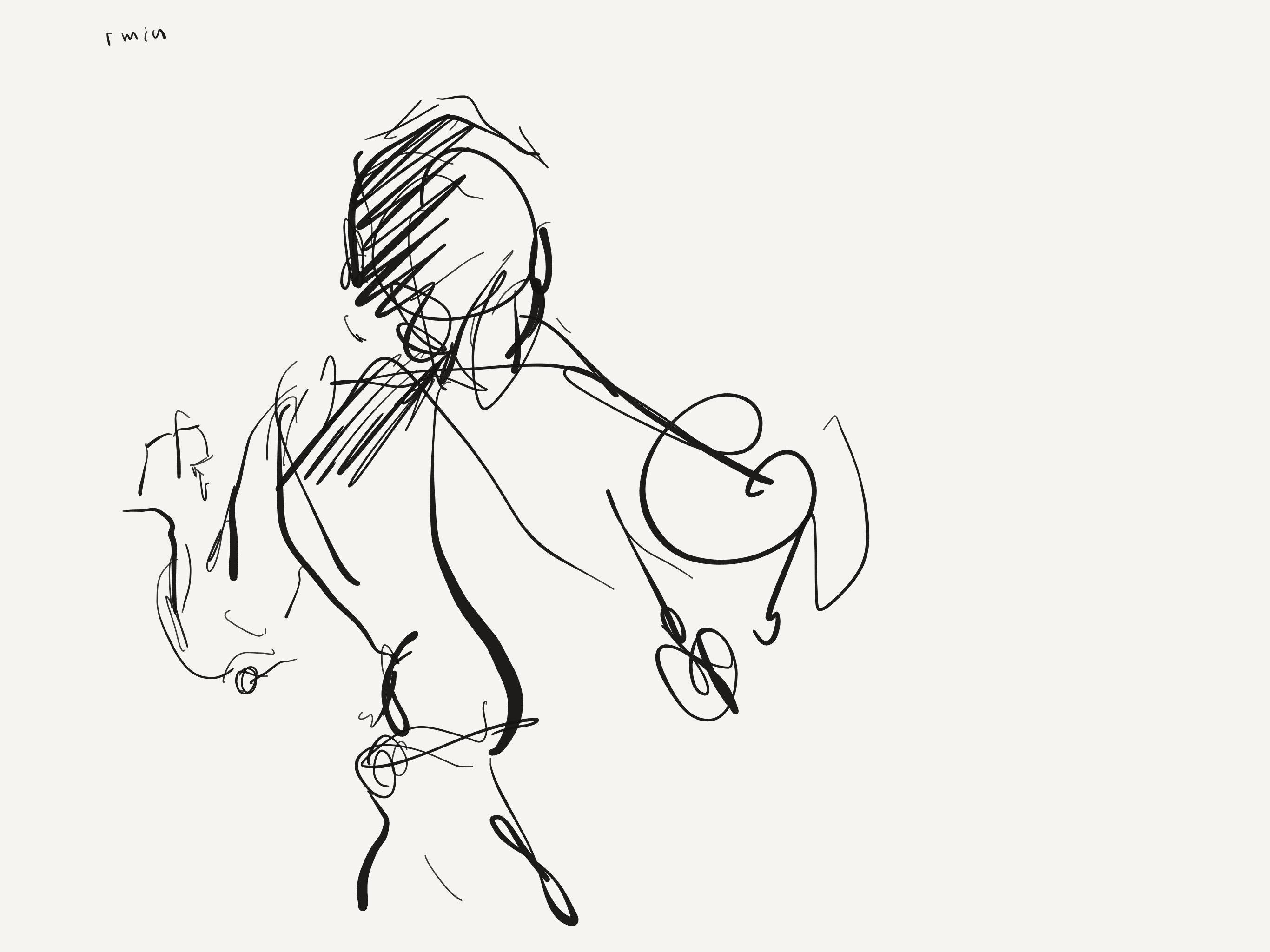 2732x2048 Figure Drawing 8 Alex Feliciano