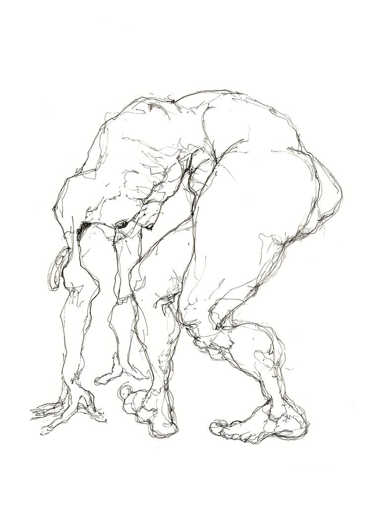 770x1068 Saatchi Art Nude Study 8 Drawing By Eleanor Adair