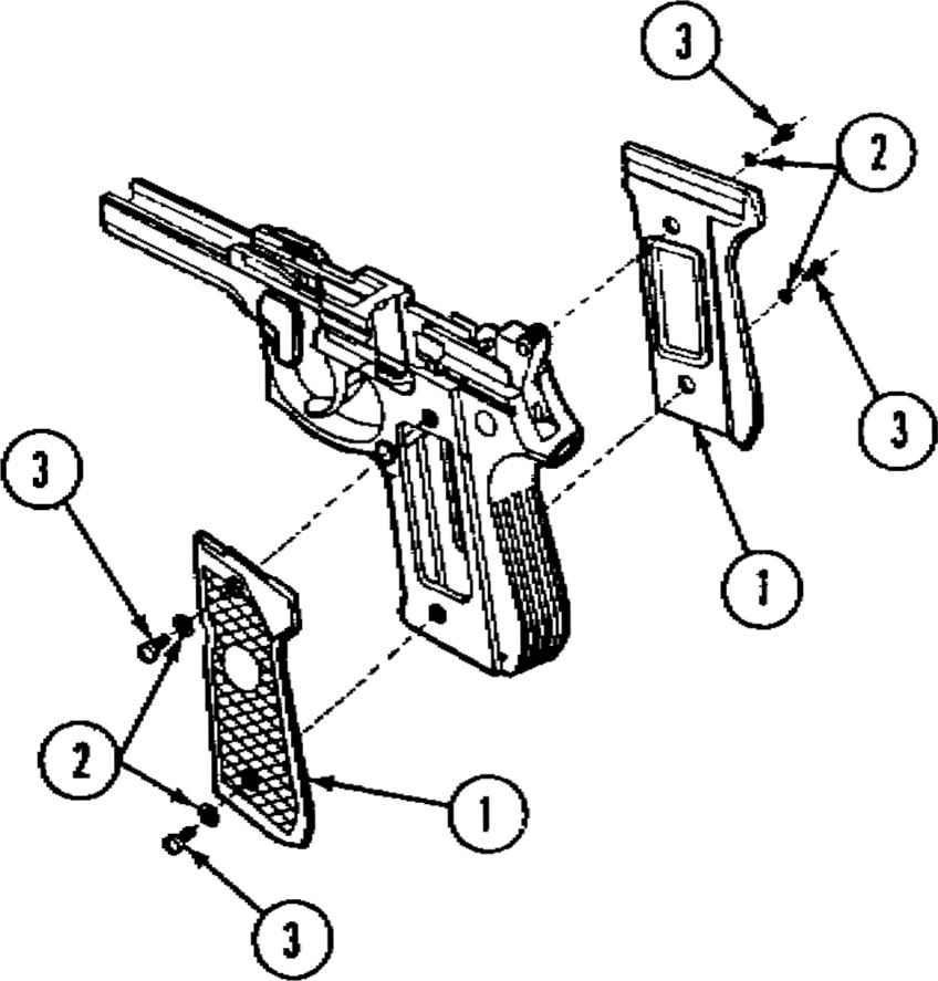 848x887 How To Dismantle A 9mm Handgun
