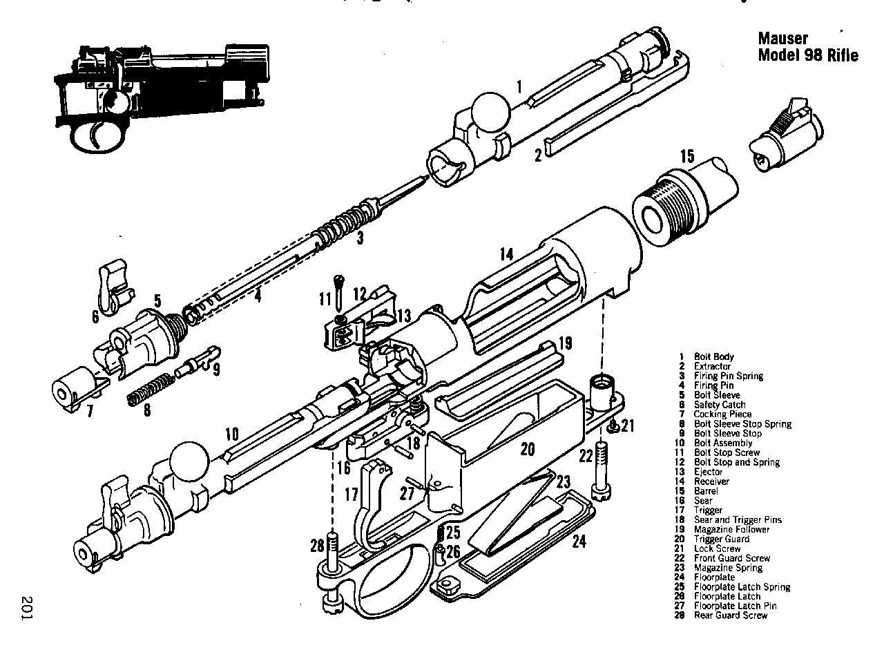 9mm Drawing At Free For Personal Use 1911assemblydiagram Printable Gun Schematics Exploded 1280x941 Mauser 98 Stock