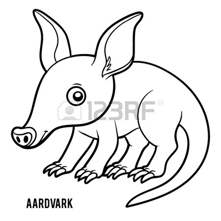 450x450 186 Aardvark Stock Illustrations, Cliparts And Royalty Free