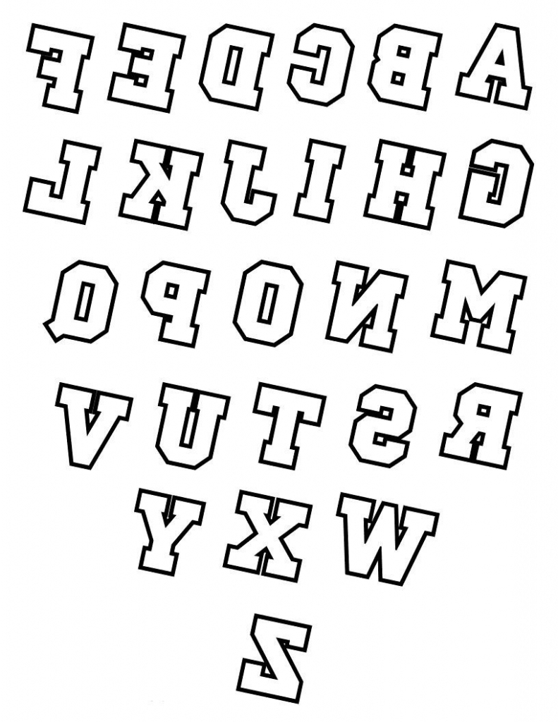791x1024 How To Draw Block Letters Alphabet Drawing 3d Alphabet Letters