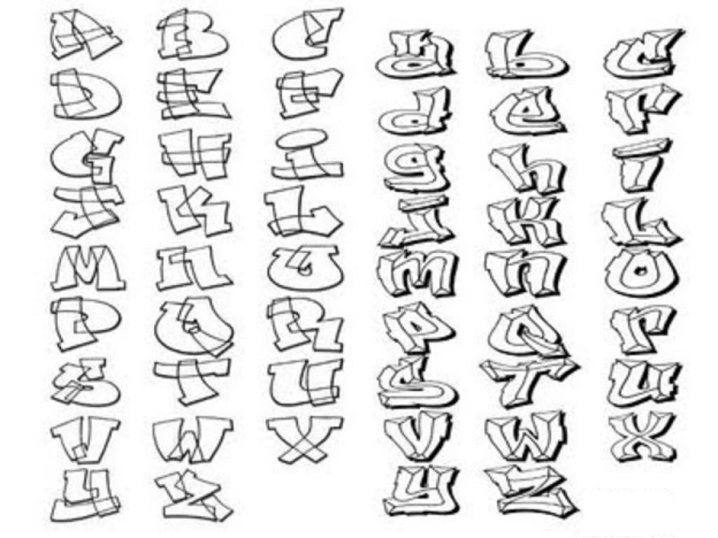 1024x768 How To Draw Graffiti Letters A Z Graffiti In Abc Street Art In Abc