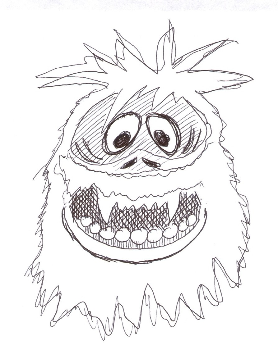 Abominable Snowman Drawing at GetDrawings   Free download