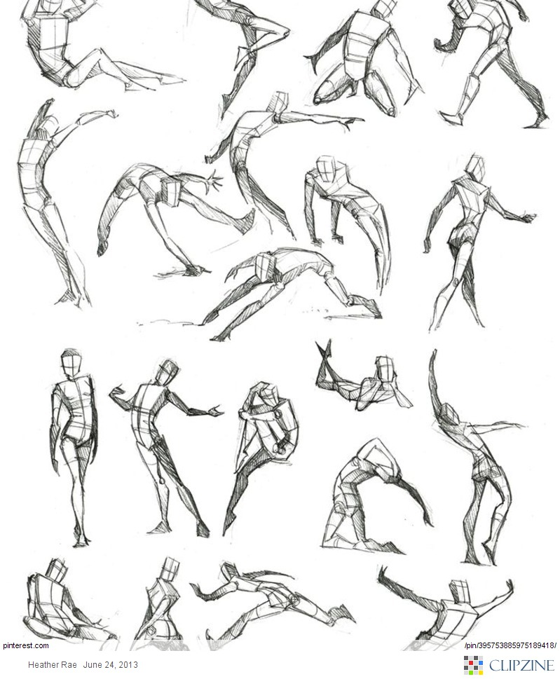 799x969 Some More Figure Drawing By On @