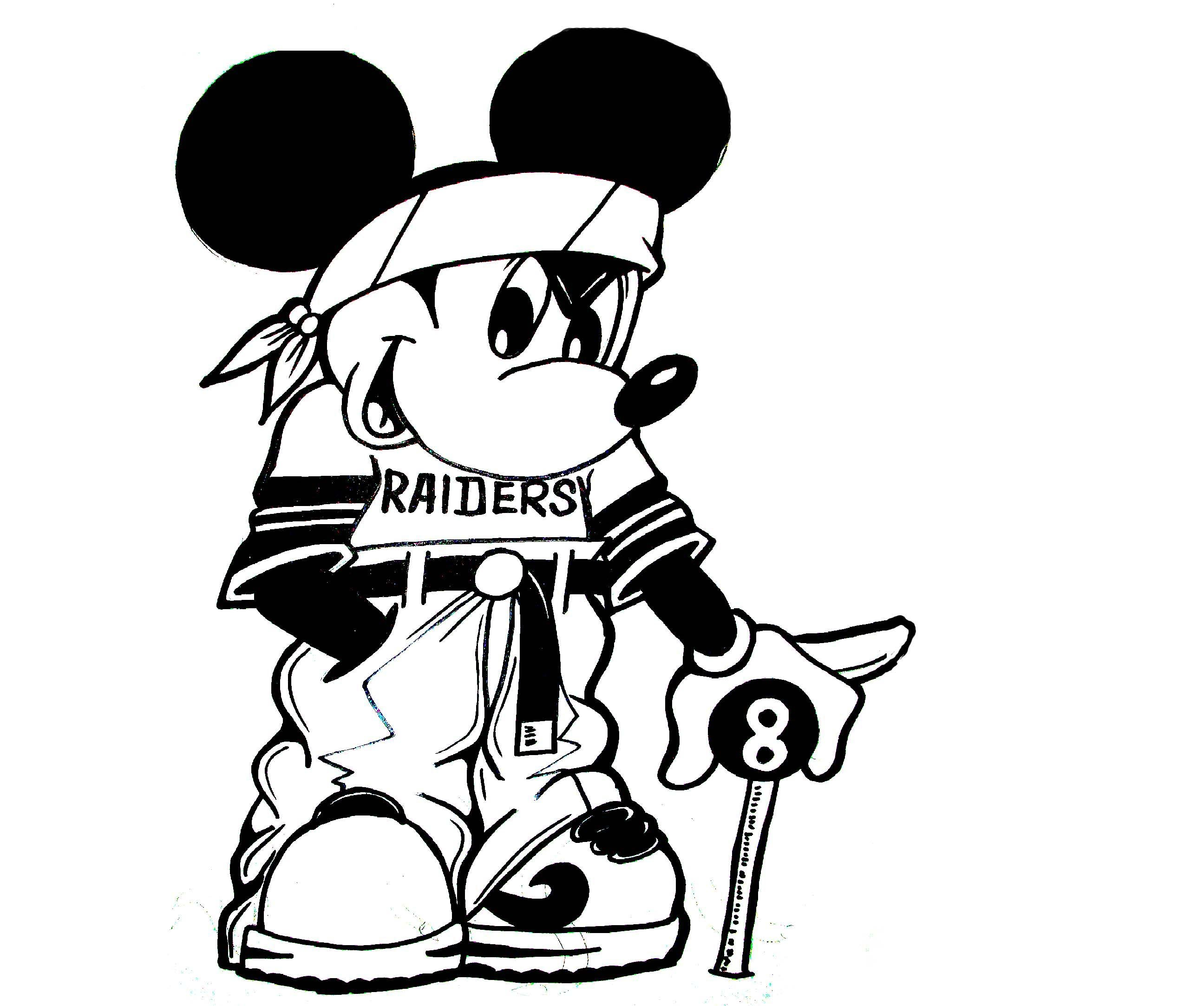 2592x2165 Drawing A Gangsta Mickey Mouse 2