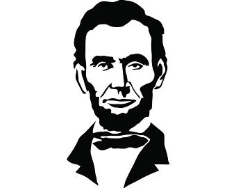 abraham lincoln cartoon drawing at getdrawings com free for rh getdrawings com abraham lincoln clip art silhouette abraham lincoln birthday clip art