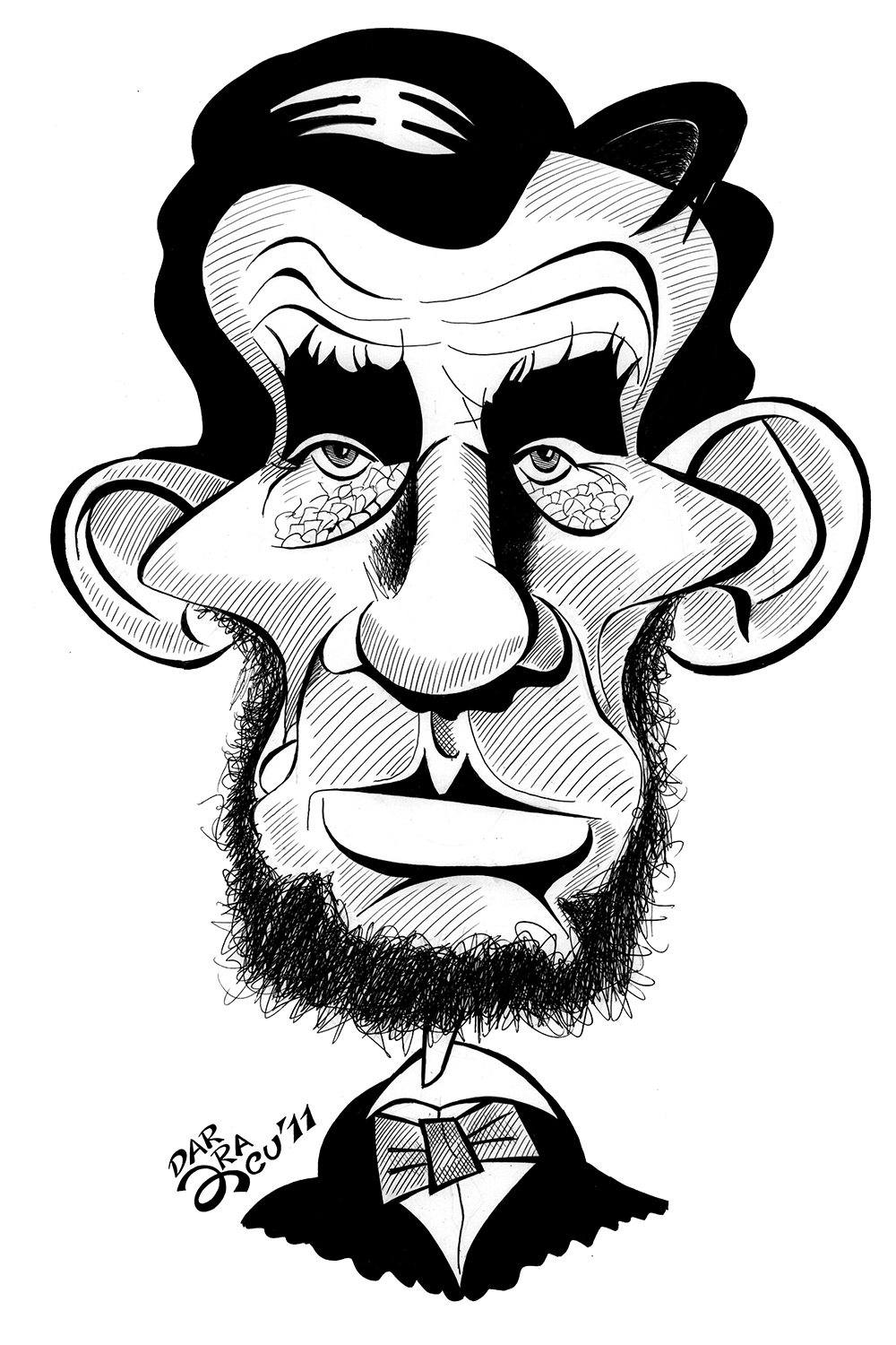 1000x1500 Caricature Of Lincoln Abraham Lincoln Caricatures