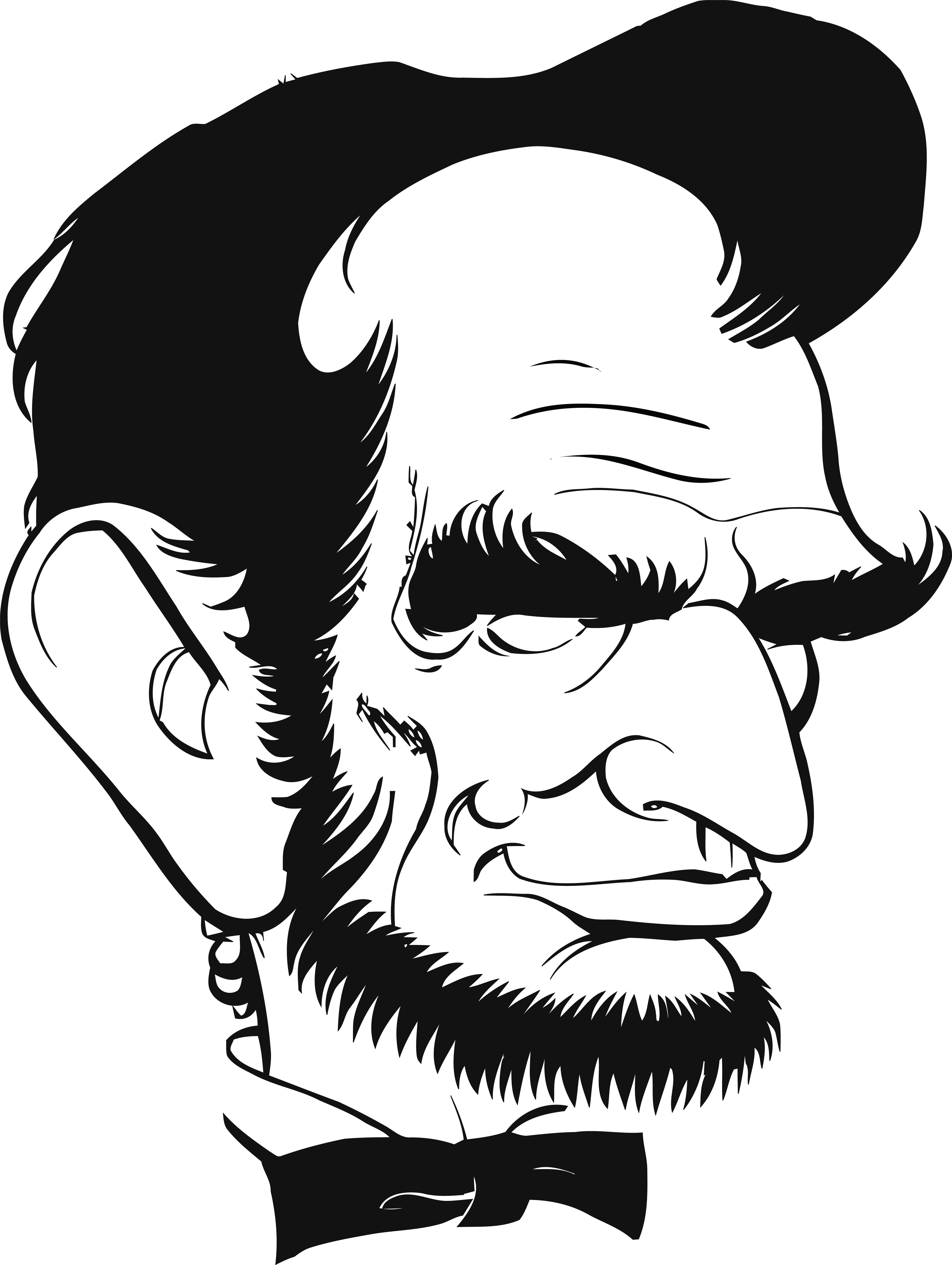 4000x5316 Clipart Of Abraham Lincoln