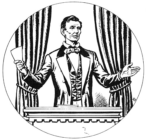 500x479 Abraham Lincoln, House Divided Speech