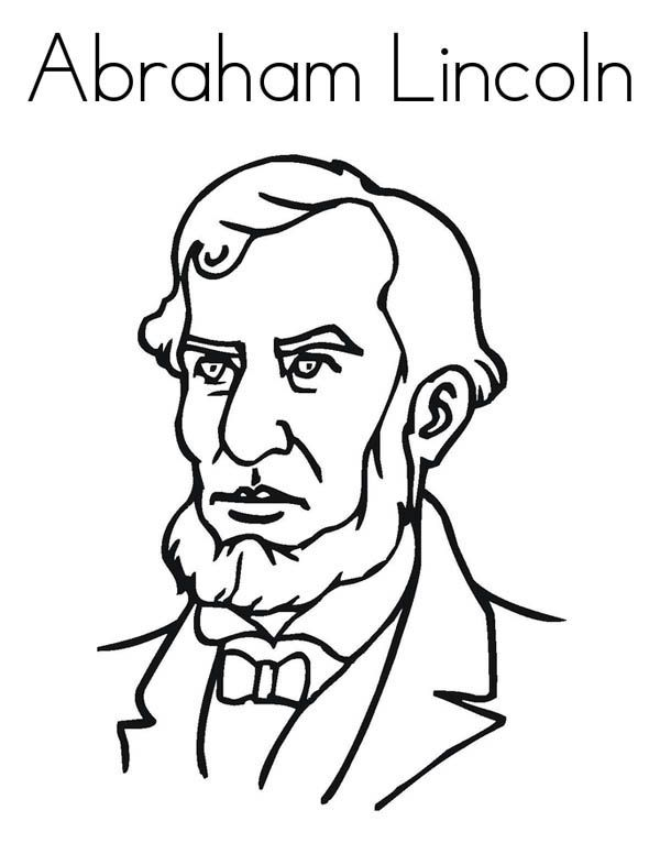 600x776 Abraham Lincoln Coloring Pages