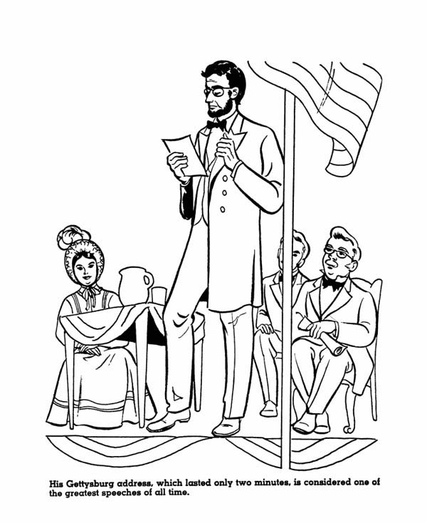 Abraham Lincoln Drawing at GetDrawings.com | Free for personal use ...